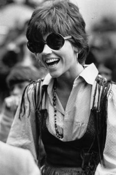 Jane Fonda - Wight Island, 1969