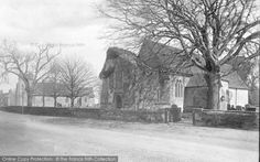 Trimley St Mary, The Two Churches 1899, from Francis Frith