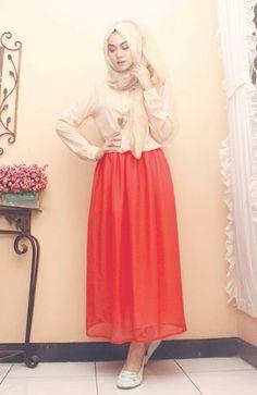 hijab style inspiration by Indah Nada Puspita