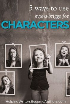 Here are five ways you can use an understanding of the Myers-Briggs personality-typing system to write characters who are bigger, better, and more realistic. Book Writing Tips, Writing Workshop, Writing Resources, Writing Prompts, Writing Corner, Writing Ideas, Outlining A Novel, Plotting A Novel, Writing Characters