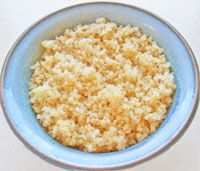 Basic Quinoa: We've been busy developing new quinoa recipes, but first up is our basic quinoa recipe which has lots of quinoa info, and tells you how to cook it!