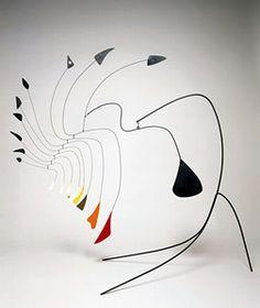 Alexander Calder - tabletop mobile