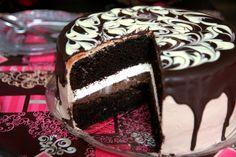 Tort Tuxedo | MiremircMiremirc Some Fun, Tuxedo, Tiramisu, Sweet Tooth, Sugar, Ethnic Recipes, Desserts, Food, Cakes