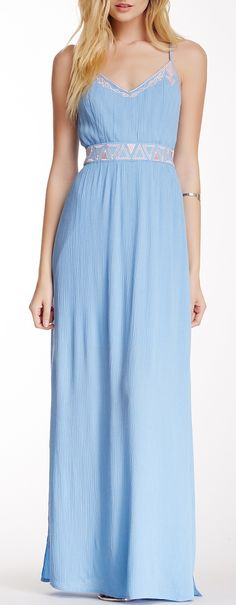 Embroidered Maxi Dress. Love love love this dress! I have a similar one in turquoise from Monsoon.