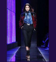 "209 Me gusta, 2 comentarios - Bella Hadid Updates (@bhadidnews) en Instagram: ""#BellaHadid opening the DSquared FW17 fashion show in Milan. @bellahadid"""