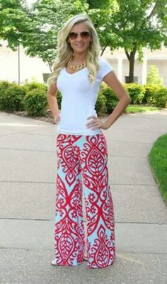 Gorgeous Palazzo Pants!! From thepinklilyboutique.com