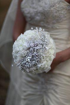cinderella style wedding bouquet by mathepplestone on Etsy, $630.00