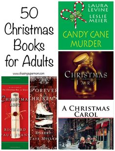 50 Christmas Books for Adults – Holiday Must-Read List - hailey Book Club Reads, Book Club Books, Book Nerd, Book Lists, I Love Books, Good Books, Books To Read, My Books, Reading Books