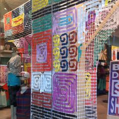 Mesh and streamers : urban outfitters
