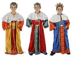 disfraz niño reyes magos