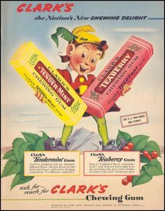 I don't remember Tender Mint but I remember Teaberry!  JoAn