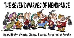 seven dwarf of menopause | The seven dwarves of menopause | Flickr - Photo Sharing!