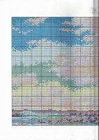 "Gallery.ru / TATO4KA6 - Альбом ""21"" Cross Stitch, Pattern, Prints, Landscape, Punto De Cruz, Scenery, Seed Stitch, Patterns, Cross Stitches"