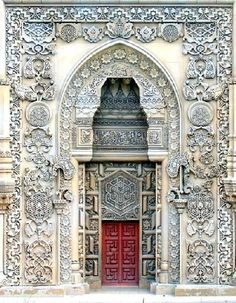 Main Door of the Mosque - Sütlüce, Istanbul
