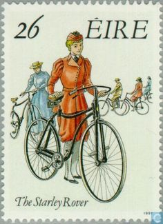 Postage Stamps - Ireland - Cycling
