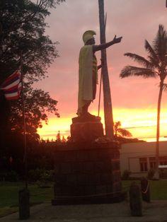 Kohala Original King Kamehameha statue, Hawaii
