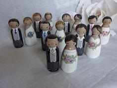 muñecos para pastel de bodas
