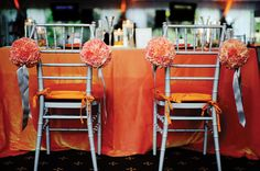 Fifty Shades of Grey Wedding Accessories - Gray chavari chairs from A Touch of Elegance in Randolph.