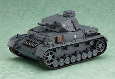 Panzer IV Ausf. D (Girls und Panzer) Nendoroid More Fahrzeug 16cm…