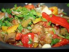 Аджапсандали (овощное рагу). Просто, вкусно, недорого. - YouTube