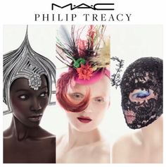 Oh, this is good, you guys. As you may know, we love us a good M.A.C collaboration, (speaking of, the Nasty Gal collection just launched today!) and the latest announcement does not disappoint. The cosmetics brand is teaming up with iconic millinerPhilip Treacy to launch a collection that will launch in April 2015. The collection
