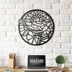 Hoagard - Metal Wall Art and Decorations Large Metal Wall Clock, Metal Wall Art, Metal Art Projects, Diy Home Repair, Steel House, Mural Painting, Home Wall Decor, Modern Wall Art, Metal Walls