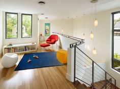 Bamboo flooring in a kids play area Eco Friendly Flooring Options for Modern Spaces Best Flooring, Flooring Options, Modern Kids, Modern Spaces, Eco Friendly Flooring, Street House, Prefab Homes, Modern Design, Ikea