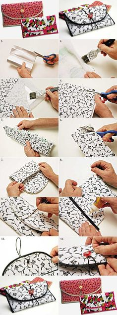 Be Creative And Make Your Own Wallet