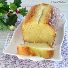 Plumcake allo yogurt Bimby - Ricetta per TM31 e TM5 Il Cuore in Pentola Torte Cake, Plum Cake, Muffin, Banana Bread, Good Food, Food And Drink, Desserts, News, Recipes