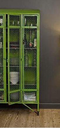 liquor cabinet via remodelista