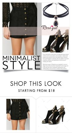 """""""Minimalist Style"""" by zenabezimena ❤ liked on Polyvore featuring Summer, black, summerstyle and polyvoreeditorial"""