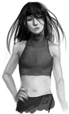 Envy from fma (^ν^) this is not a girl!... Pretty although i'm not a fan of the face... :(