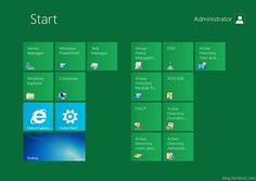 Windows 8 Server UI