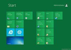 Windows 8 Server UI