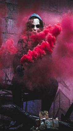 red smoke by joker iphone iphone iphone 7 hd Smoke Wallpaper, Graffiti Wallpaper, Cool Wallpaper, Mobile Wallpaper, Wallpaper Backgrounds, Smoke Bomb Photography, Art Photography, Smoke Pictures, Cool Pictures