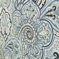 Waverly Paddock Shawl Porcelain Fabric