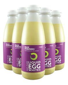 Liquid Egg Whites (6 x 1kg Bottles)