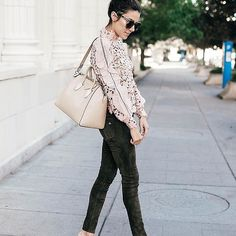 Romantic lace tops for Fall.