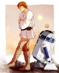 Luke Skywalker by sutifer
