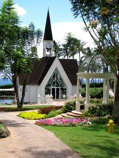 Beautiful Wailea Chapel - Maui - Hawaii