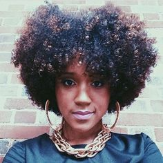Big Curly Fro - http://www.blackhairinformation.com/community/hairstyle-gallery/natural-hairstyles/big-curly-fro/ #naturalhair #curlyhair #afro
