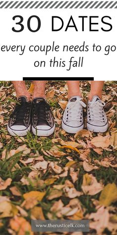 30 Fall Dates Every Couple Needs to Go on This Fall- Tis the season for falling in love. These 30 fall date night ideas will keep you falling in love all season long.