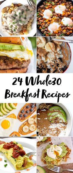 whole 30 recipes These breakfast recipes will have you antsy to start a round! With both savory and sweet breakfast recipes, theres definitely something for everyone here. Try some of my favorite breakfast recipes and let me know which is your favorite! Whole Foods, Whole 30 Diet, Paleo Whole 30, Whole 30 Vegetarian, Detox Breakfast, Whole 30 Breakfast, Healthy Breakfast Recipes, Breakfast Time, Vegan Breakfast