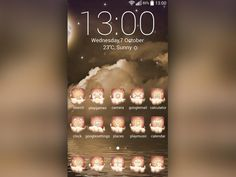 Have you ever had a such a beautiful #dream that you didn't want to wake up? That is the exact feeling that this Dream Land Theme will give you. Step into the magic land of dreams by customizing your #gadget with this lovely #theme.