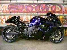 Custom paint Suzuki Hayabusa , rims , http://www.PashnitBusa.com #pashnit #hayabusa