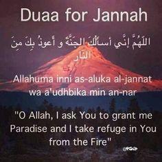 دعاء الجنة #supplication #dua #hadith #sunnah #dhikr #muslim #Islam
