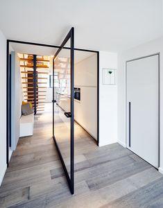 Pivoting doors