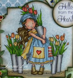 From My Craft Room: Hello from the Heart - FFFC #108 Sketch