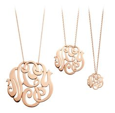 Beautiful monogram necklace ideas in these photo gallery.