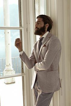 Perfect for a groom lol #beard #dapper